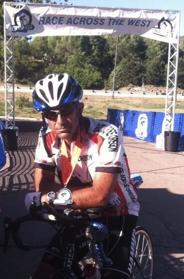 John Hughes coaching client Jerry Arnold third place Race Across the West
