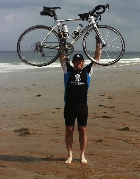 Hughes cycling training client Philip Schoenig